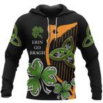 Irish St Patrick's Day 3D Erin Go Bragh 3D All Over Print Hoodie - 3D Hoodie