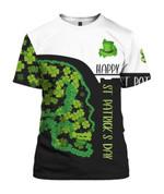 Happy St Patrick's Day 3D All Over Print | Hoodie | T-Shirt | Sweatshirt - 3D T-Shirt