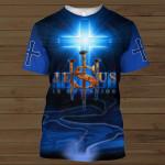 Jesus Is My Savior 3D All Over Print Shirt