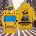 School Bus Driver 3D All Over Print Hoodie