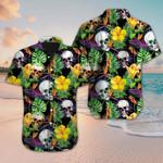 Skull Hawaiian Shirt For Men And Women