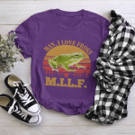 Man, I Love Frogs MILF Shirt