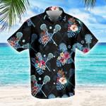 Lacrosse Tropical Hawaiian Button Shirt