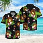 Softball Flowers Tropical Hawaiian Shirt