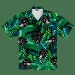 Black Panther Tropical Hawaiian Shirt