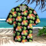 Pineapple Tropical Leaves Hawaiian Shirt