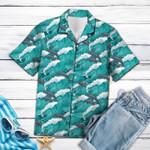 Dolphin Waves Hawaiian Shirt