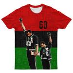 1968 Olympics Black Power 3D All Over Print T-Shirt
