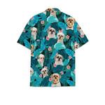 Shih Tzu dog tropical hawaiian shirt
