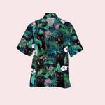 Blackcat tropical hawaiian button shirt & beach short