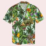 Dinosaur And Tacos Tropical Hawaiian Shirt
