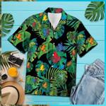 Rainforest Frogs Tropical Hawaiian Shirt