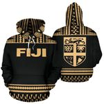 Fiji Tapa 3D All Over Hoodie