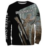 Grouse Hunting Bird Customize Name 3D All Over Print Shirts