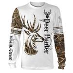 Deer hunter customize name all over print 3d shirt