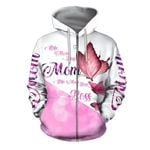 Wife Mom Boss Butterfly 3D All Over Print Hoodie