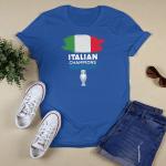Italian Champions Euro 2020 2021 Shirt
