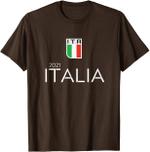 Italian, Italy Champions Football Euro 2021 Shirt