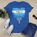 Argentina Champions, Lionel Messi Champions Copa America 2021 Shirt