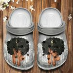 Black Girl Unisex Clog For Mens And Womens