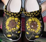 You are my sunshine skulls sunflower unisex clog shoes for mens and womens