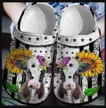 Cow & Sunflower Unisex Clog Shoes