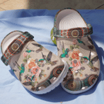 Hummingbirds Hippie Unisex Clog Shoe