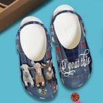 I Goat This Goat Unisex Clog Shoes
