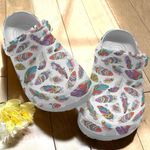 Boho Feathers Unisex Classic Clog