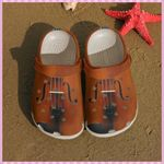 Violin Is My Love Unisex Clog Comfortable For Mens And Womens