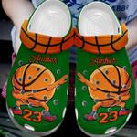 Personalized Basketball Dab Unisex Classic Clog