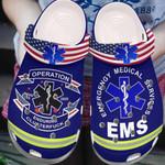 Emergency medical services Unisex Clog Shoes, EMS Croc Clog
