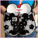 Soccer Lover Personalized Unisex - Clog Comfortable For Mens And Womens