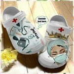 Personalize Nurse Queen Unisex Clog For Mens And Womens