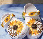 Butterfly & Sunflower Unisex Clog for Men and Women