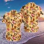 Cowboy Tropical Pineapple Hawaiian Shirt