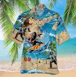 Hawaiian Bigfoot Summer Surfing Hawaii Shirt
