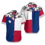 Texas States Button Hawaiian Shirt