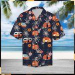 Camper Camping Tropical Hawaiian Shirt