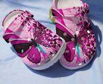 Butterflies Unisex clog full print shoes