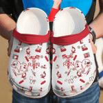 Nurse Red Symbol Unisex Clog Shoes