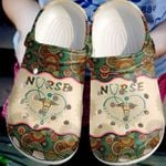 Nurse It's A Work Of Heart Unisex Clog Shoes