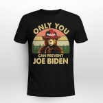 Vintage Mana Bear Only You Can Prevent Joe Biden Shirt
