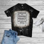 Tennessee Whiskey Sweet As Strawberry Wine Bleached T-Shirt