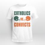 Catholics Vs Convicts Football Lovers Shirt