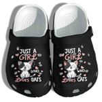 Just A Girl Who Loves Cats Unisex Clog Shoes