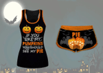 If You Like My Pumpkin You Should See My Pie Set Halloween Shirt & Short