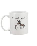 Mouse & Donkey I Don't Give A Rat's Mug