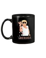 Trump Bae Salt Merica American Flag Mug