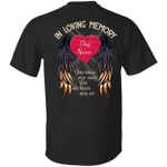 Personalized In Loving Memory Your Wings Customize Name Shirt